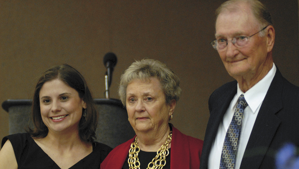 Kayte and Thomas Melton were presented with the Lifetime Achievement Award by Ashley Coplin.