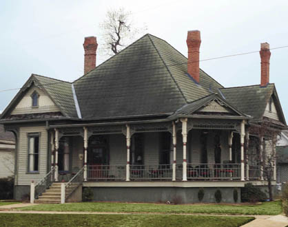 The Hayden-Travis-Wingfield-Compton home will be open for tours during the Spring Pilgrimage.