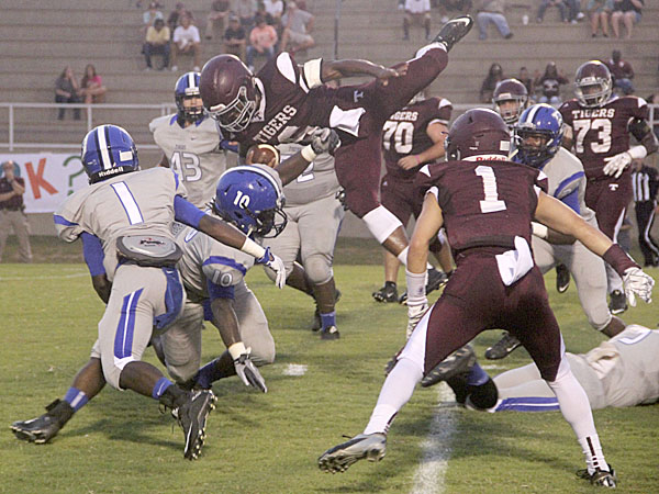 The Demopolis defense upended Thomasville most of the night and was able to make key plays when the opposition threatened.