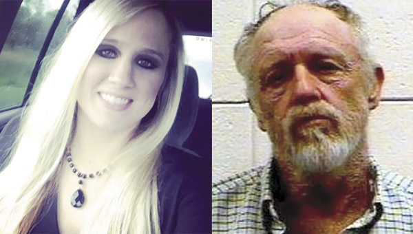 Rebecca Henderson Paulk, left, want missing on Sept. 7. Lauderdale County, Mississippi law enforcement officials have identified John Poisso, right, as a person of interest in the case.