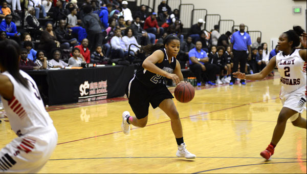 Ivery Moore finished with 11 points, but the Lady Tigers lost for the first time this season