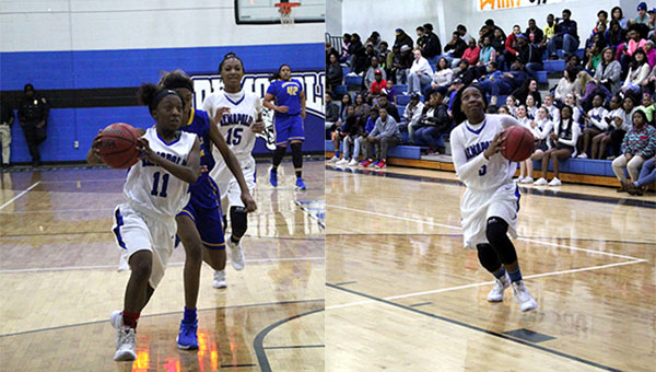 Erica Bennett and Courtney Hill combined for 15 of 16 made three-pointers for Demopolis.