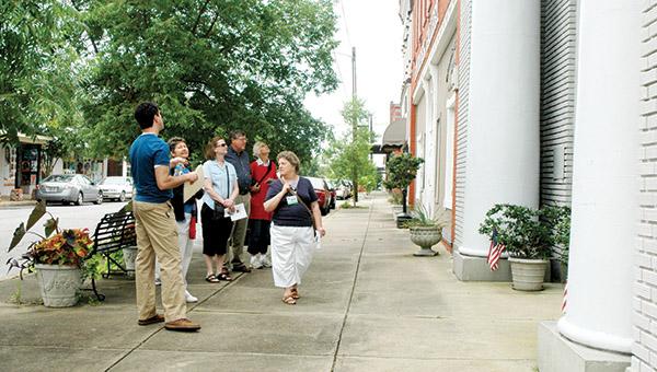 A series of walking tours of downtown Demopolis begins Saturday, April 2.
