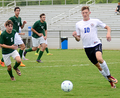 Demopolis High School's Adam Brooker has been named to AL.com's Super All-State Soccer Team. Brooker, who graduated in June, received a soccer scholarship to UAB.