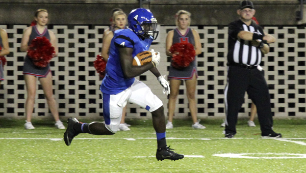 A.J. Jackson provided the only score for the Tigers during the Champions Challenge Classic in Montgomery against Hillcrest-Tuscaloosa. Demopolis looks to right the ship against old rival Greensboro.