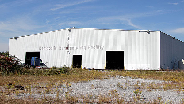 This facility in an industrial park west of Demopolis will be the site of the future Two Rivers Lumber mill, bringing a potential for 100 news jobs to the area.