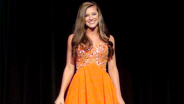 Camilla Tutt will be representing Marengo County at the Distinguished Young Woman program in Montgomery on Jan. 20-21.